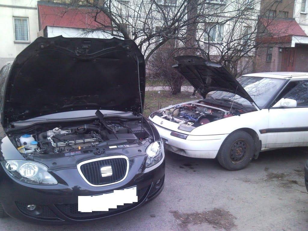 Mazda odpalona :)