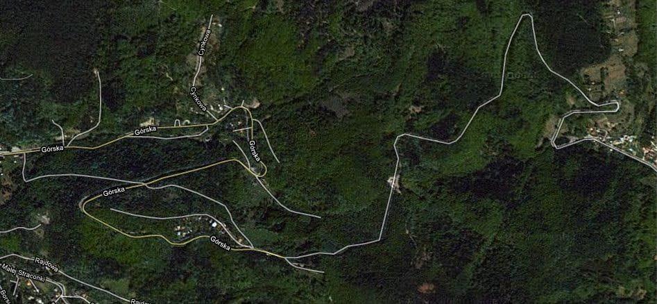 Ciekawe trasy samochodowe 3: Przegibek w Bielsku Białej