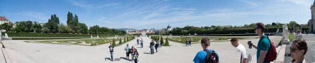 Wiedeń panoramicznie