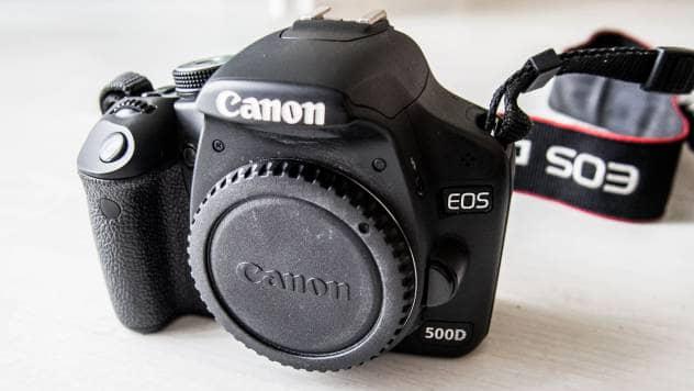 sprzęt Canon EOS 500D