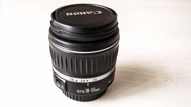 sprzętowo Canon EF-S 18-55 mm F/3.5-5.6