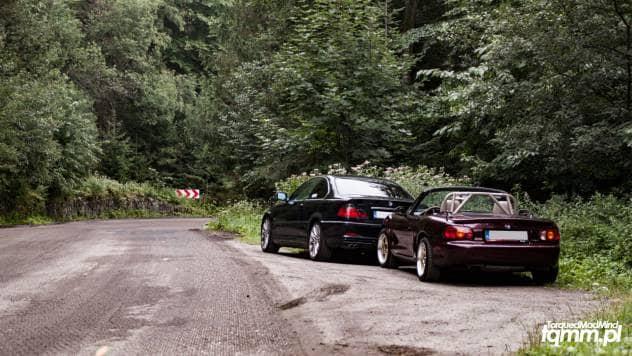 BMW E46 Mazda MX-5 Salmopol