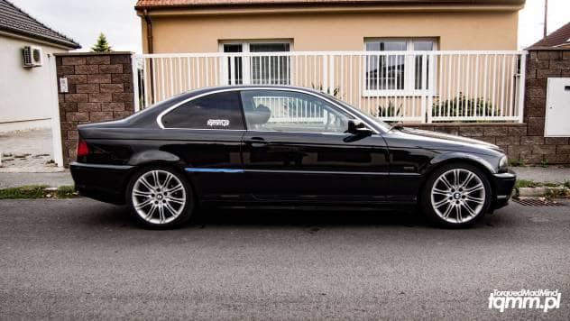 BMW E46 Montaż BC Racing RM