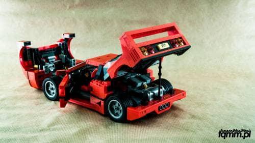 Lego Creator 10246 Ferrari F40 TorquedMad Mind - blog motoryzacyjny