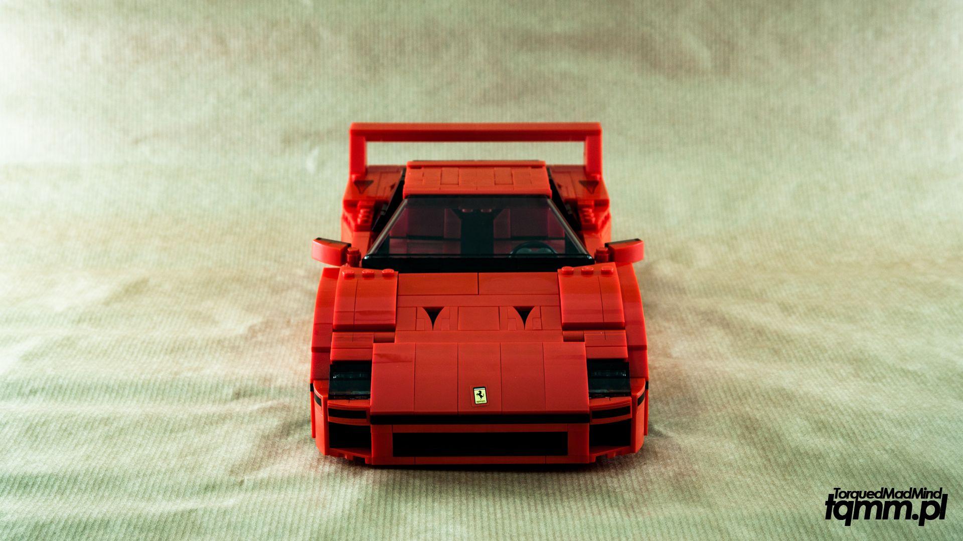 Fotki #82: LEGO Ferrari F40 10248