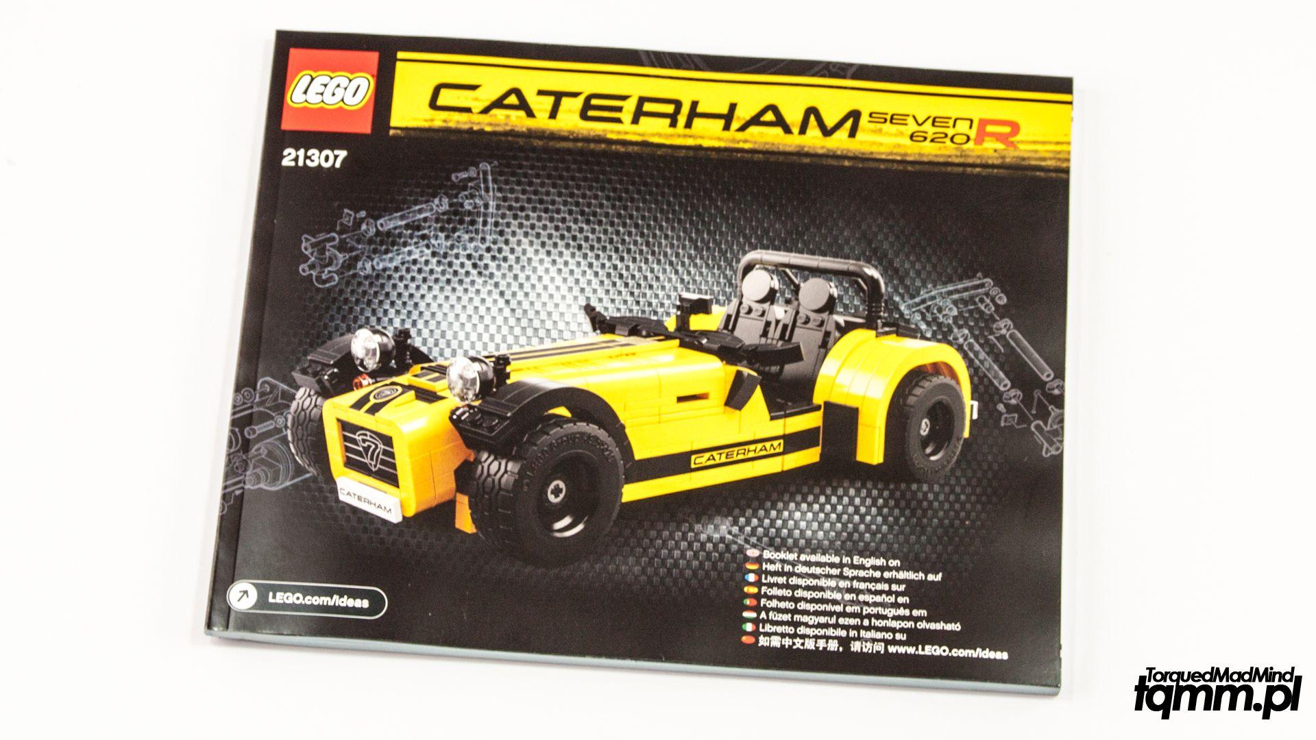 Fotki #84: LEGO Caterham Seven 620R 21307