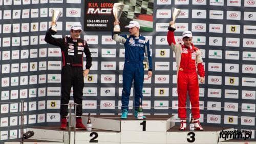 Hungaroring KIA LOTOS RACE Jan Antoszewski TorquedMad Mind - blog motoryzacyjny