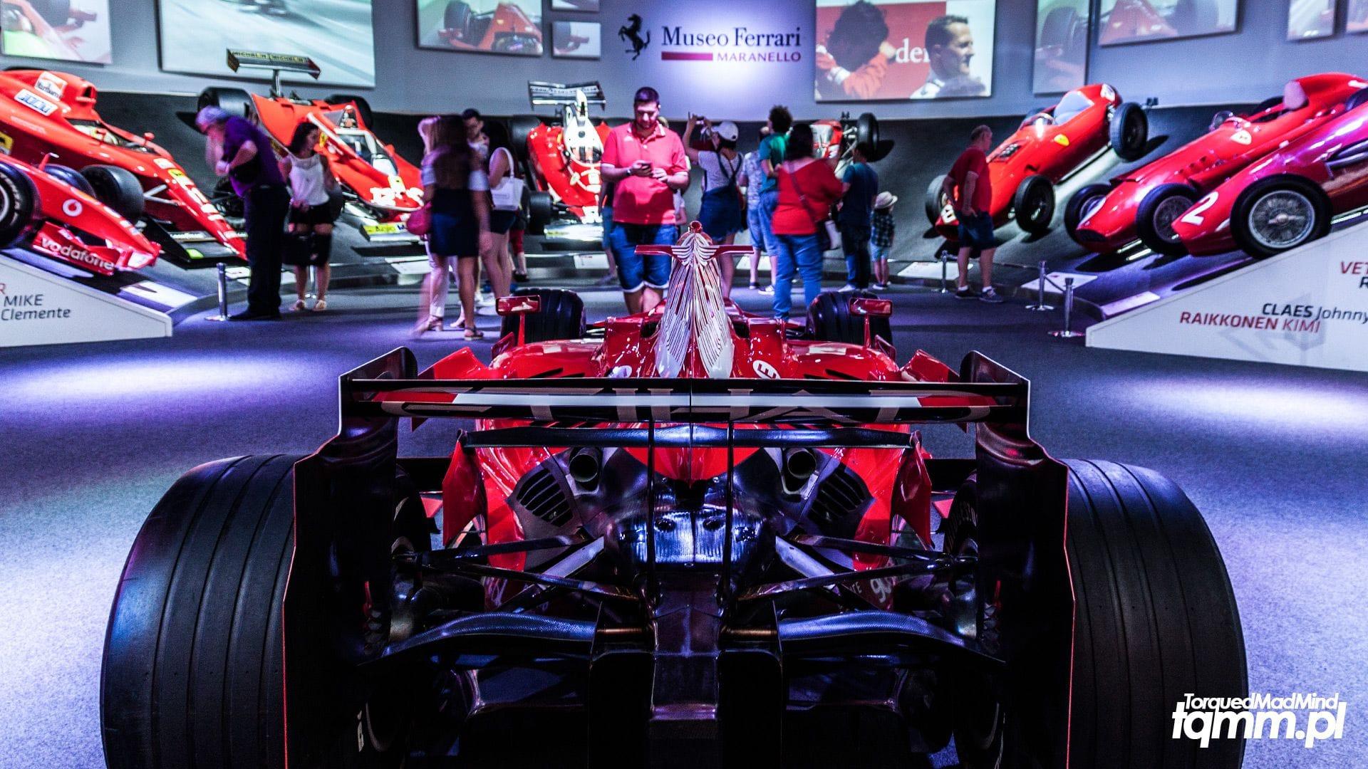 Fotki #95: Museo Ferrari Maranello