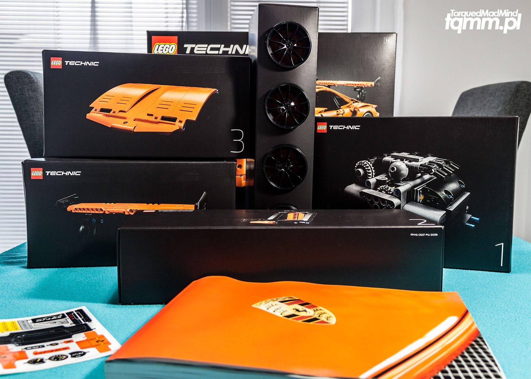 Fotki #105: Lego Technic Porsche 911 GT3 RS 42056