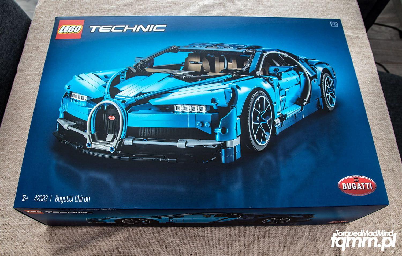 Fotki #115: Lego Technic Bugatti Chiron 42083