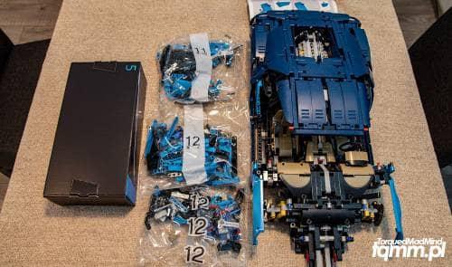 Lego Technic Bugatti Chiron - TorquedMad Mind - blog motoryzacyjny