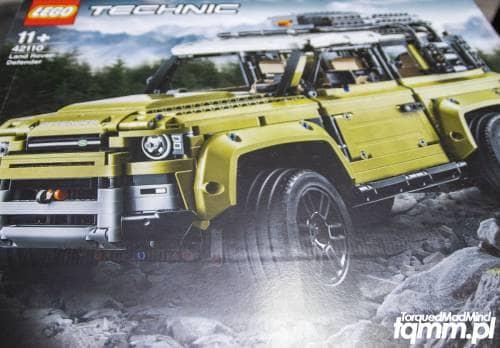 Lego Technic Land Rover Defender 42110 - TorquedMad Mind - blog motoryzacyjny