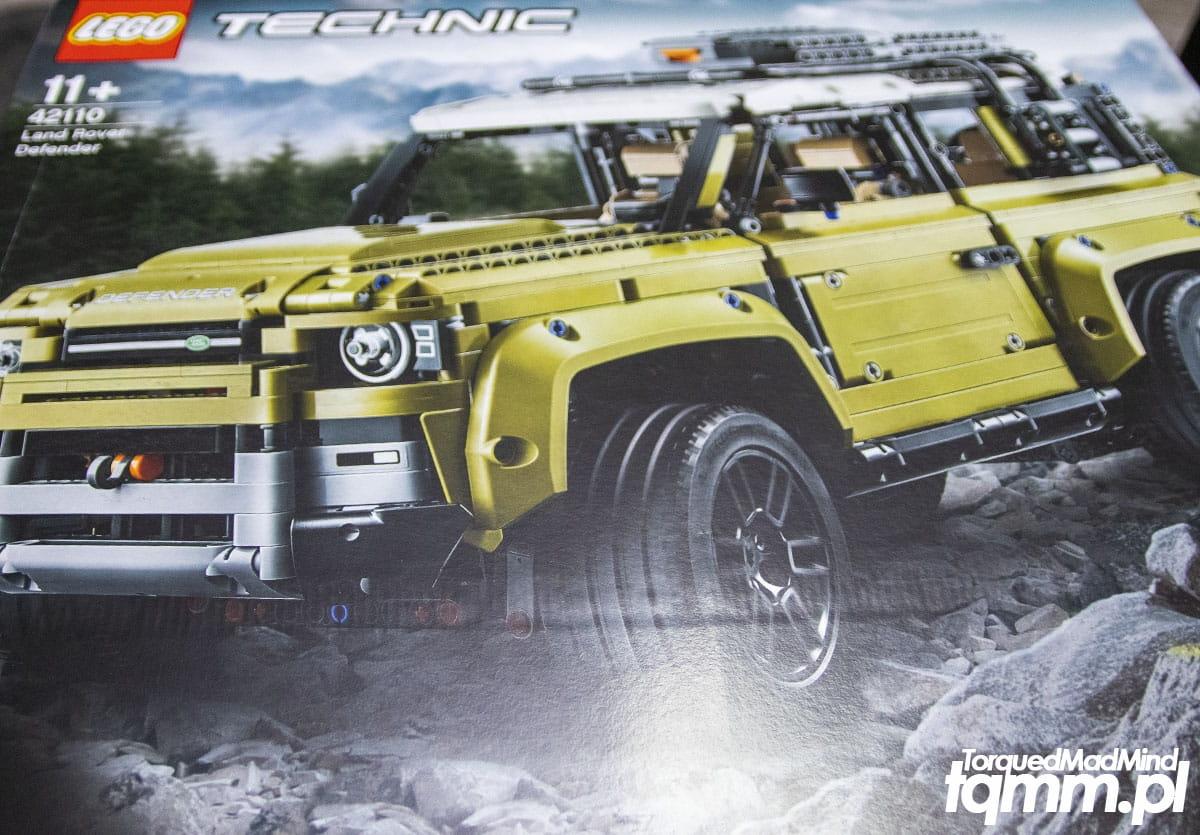Fotki #120: Lego Technic Land Rover Defender 42110