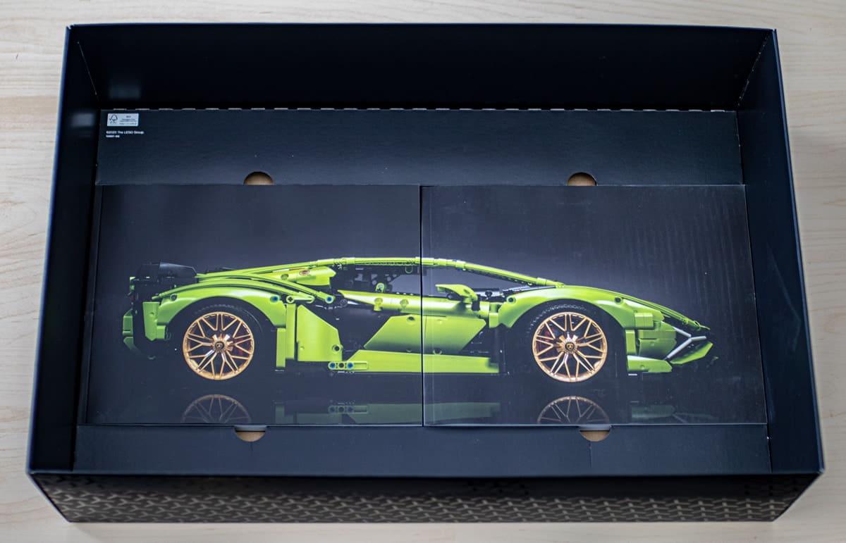 Fotki #112: LEGO Technic Lamborghini Sián FKP 37 42115